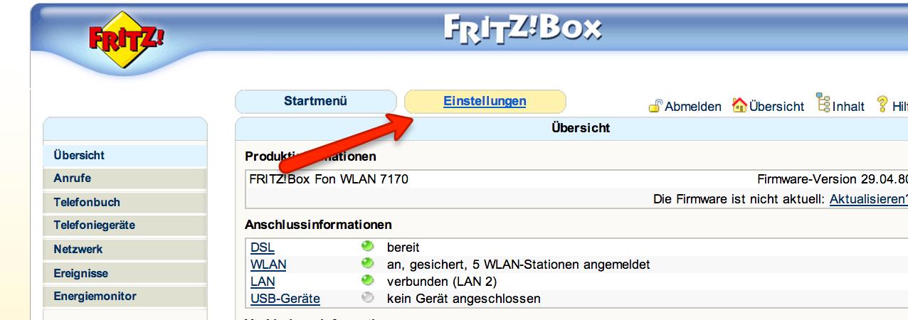 FritzBox Sicherheitslücke